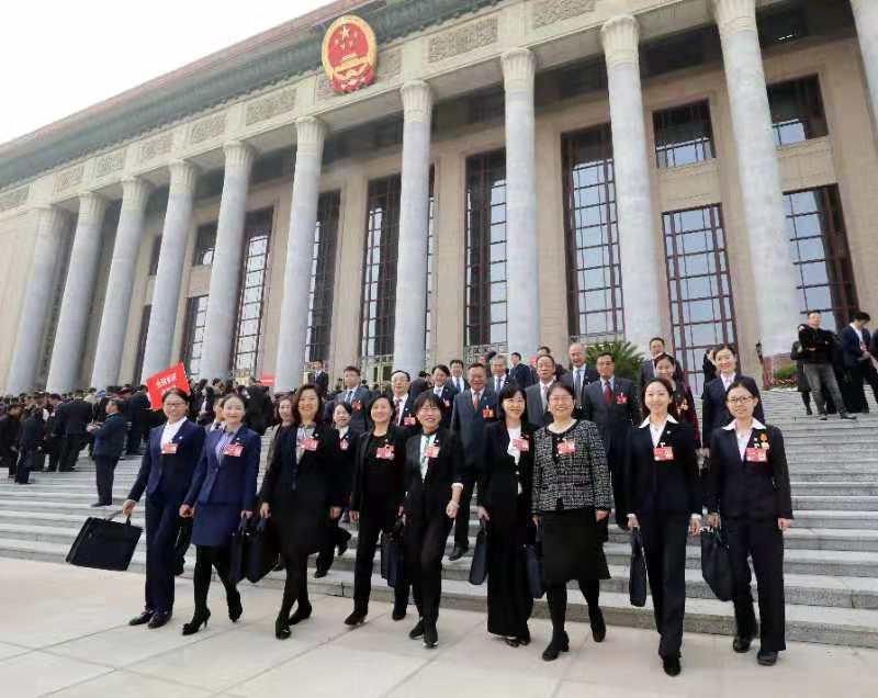 为促进金融业健康稳定发展做出积极贡献——金融代表团参加中国工会第十七次全国代表大会